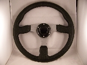 "STEERING WHEEL 13"" ALUMINUM 3 SPOKE"